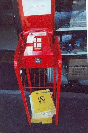 "A privately owned and built payphone.  Takes 20c coins only.  Found in small shops.</BR></BR><span class=""date-display-single"" property=""dc:date"" datatype=""xsd:dateTime"" content=""1995-11-02T00:00:00+00:00"">Nov 02, 1995</span>"