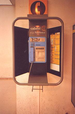 "This Blue Moster is the smartest payphone I have ever seen.  Accepts calling cards, American Express, Diner's Club.  Accepts coins and gives change.  Bilingual, volume control, lets you switch cards</BR></BR><span class=""date-display-single"" property=""dc:date"" datatype=""xsd:dateTime"" content=""1993-08-01T00:00:00+00:00"">Aug 01, 1993</span>"