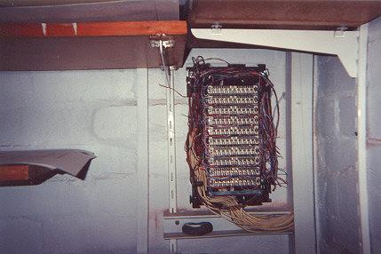 "A frame inside an office.  The cover has fallen offf.  Normally they are locked but the keys are all alike and easy to get ahold of.</BR></BR><span class=""date-display-single"" property=""dc:date"" datatype=""xsd:dateTime"" content=""1995-11-02T00:00:00+00:00"">Nov 02, 1995</span>"